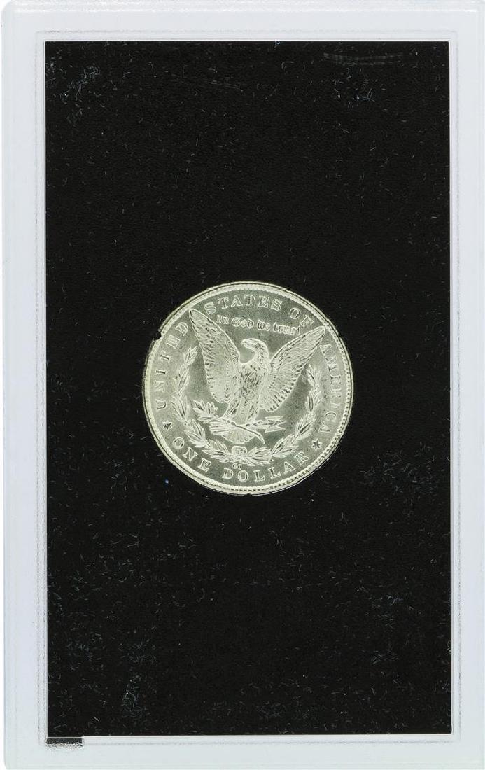 1882-CC $1 Morgan Silver Dollar Coin Uncirculated GSA - 3
