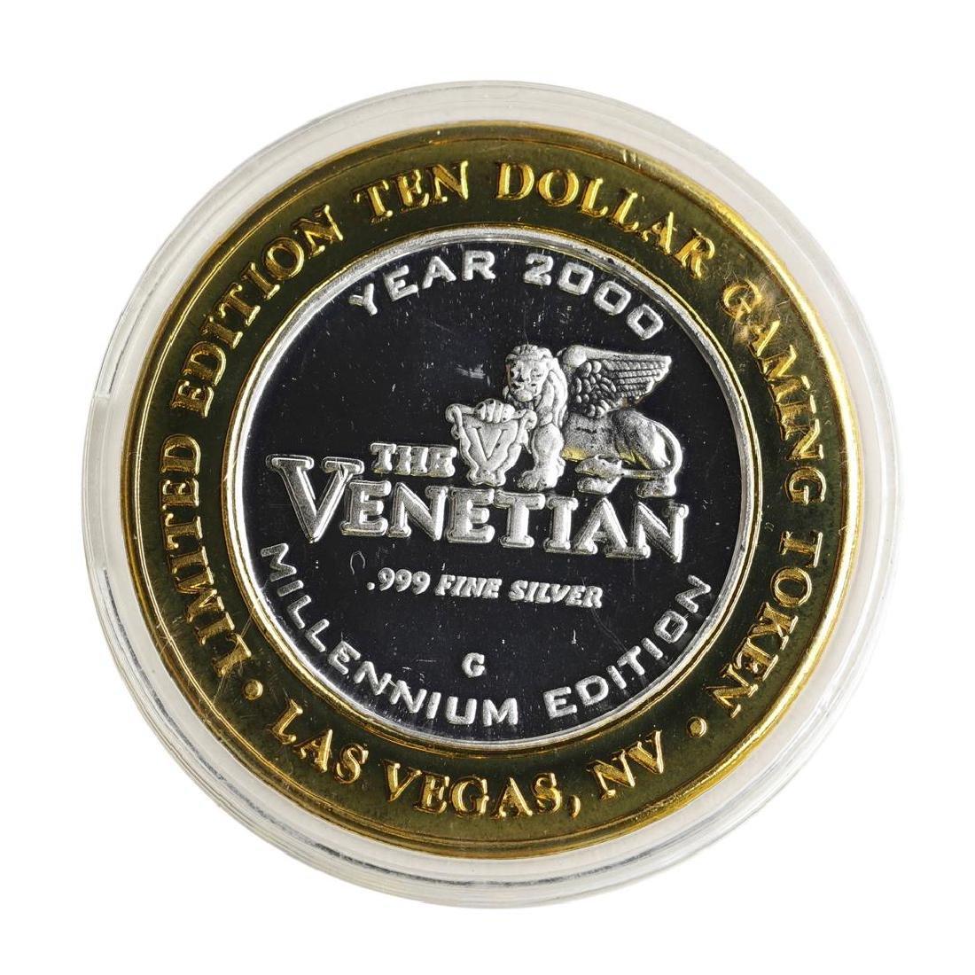 .999 Silver The Venetian Las Vegas, NV $10 Casino