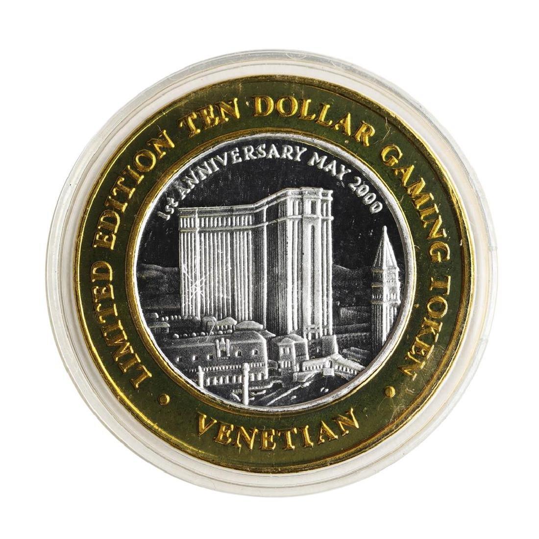 .999 Silver The Venetian Las Vegas, NV $10 Casino - 2