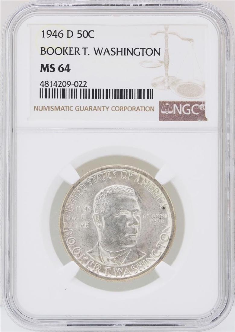 1946-D Booker T. Washington Memorial Half Dollar Coin
