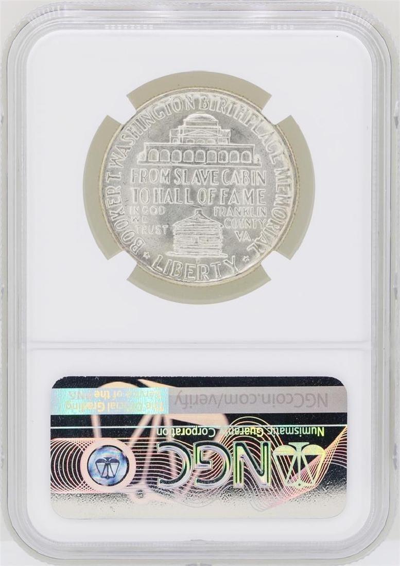 1946-D Booker T. Washington Memorial Half Dollar Coin - 2