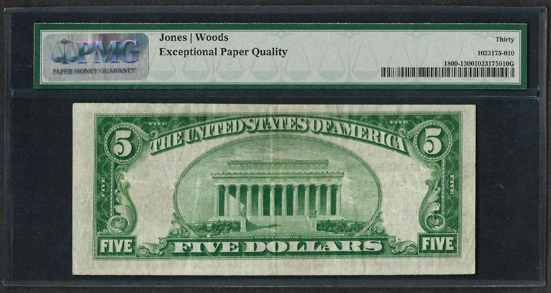 1929 $5 National Currency Note La Salle, Illinois CH# - 2