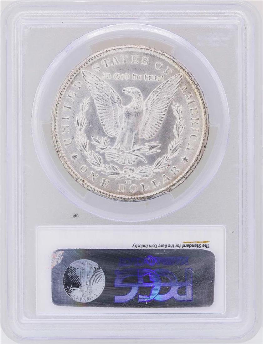 1880-CC $1 Morgan Silver Dollar Coin PCGS MS63 - 2