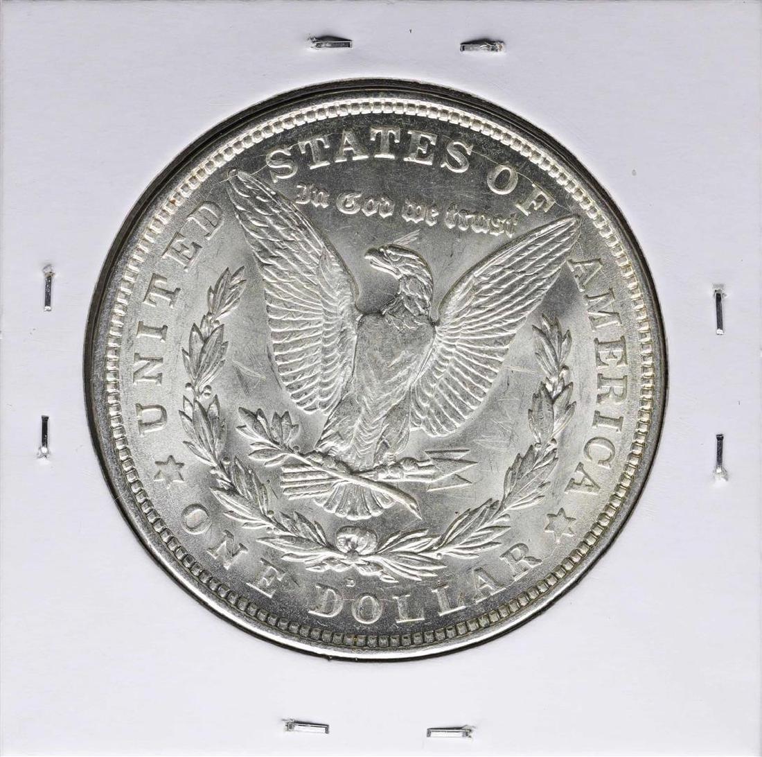 1921-D $1 Morgan Silver Dollar Coin - 2