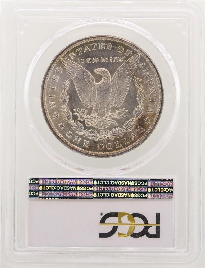 1899-O $1 Morgan Silver Dollar Coin PCGS MS63 - 2