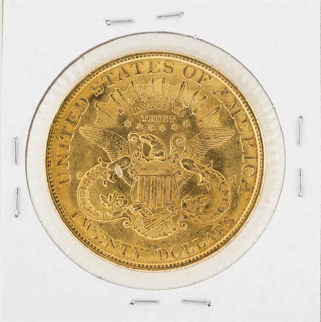 1904 $20 Liberty Head Double Eagle Gold Coin - 2