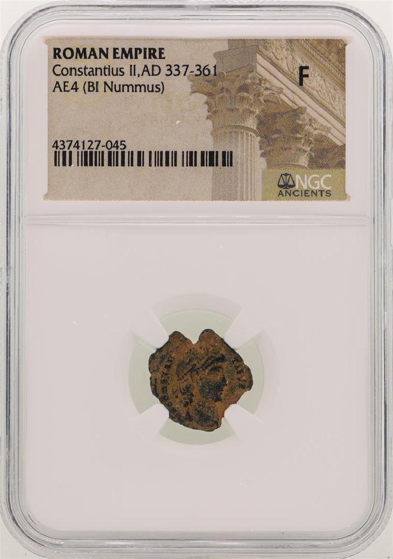 Constantius II 337-361 AD Ancient Roman Empire Coin NGC