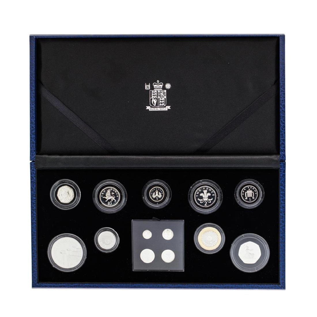 Great Britain The Queen's 80th Birthday Silver Coin Set