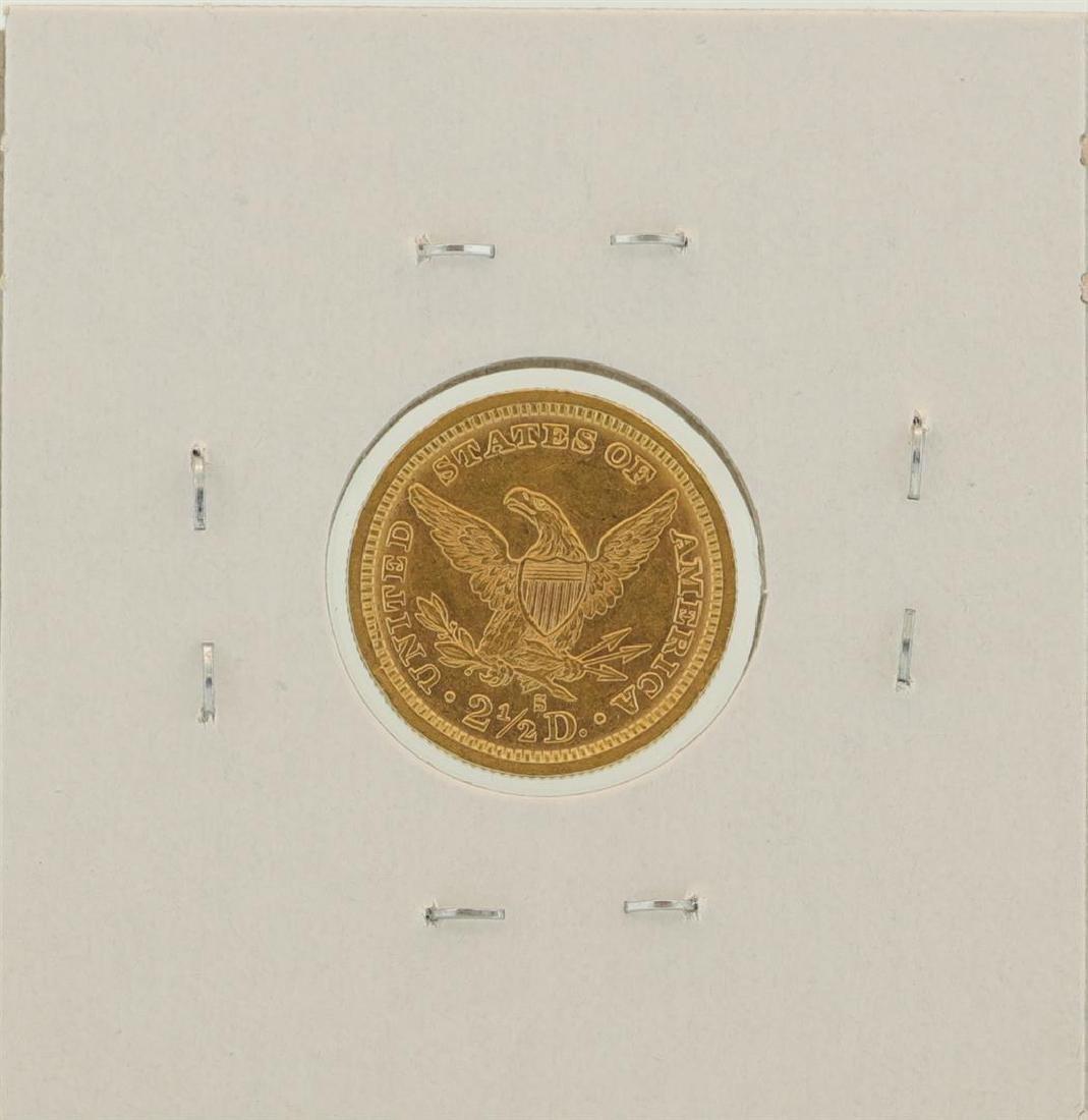 1878-S $2 1/2 Liberty Head Quarter Eagle Gold Coin - 2