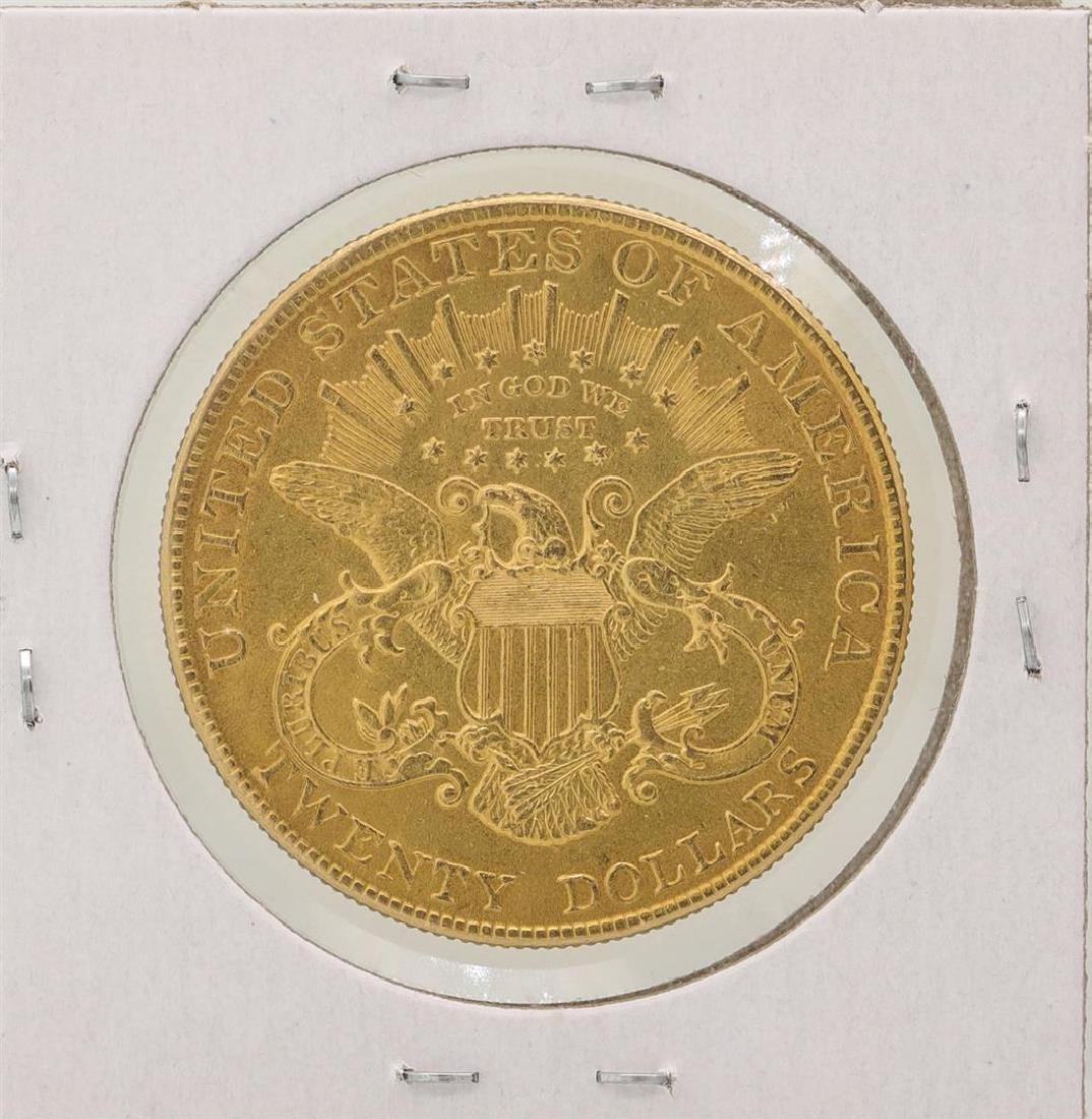 1907 $20 Liberty Head Double Eagle Gold Coin - 2