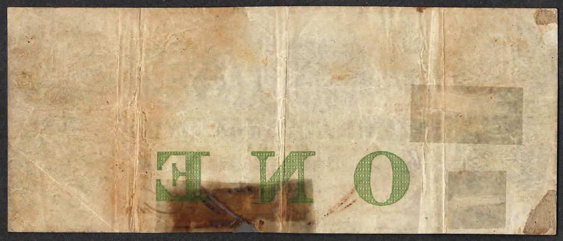 1858 $1 International Bank of Canada Toronto Note - 2