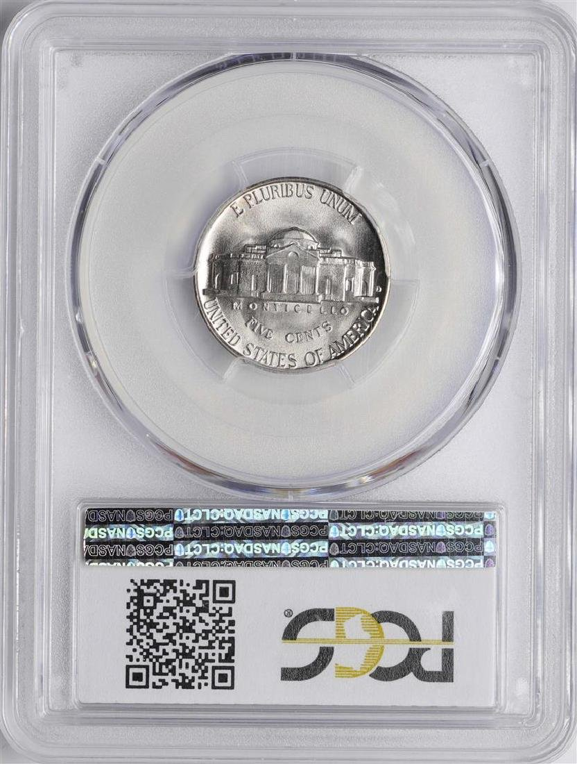1941-D Jefferson Nickel Coin PCGS MS66FS - 2