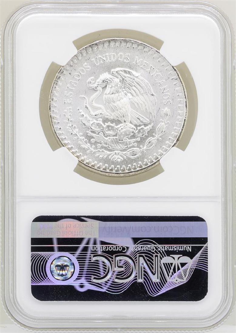 1982Mo Mexico Libertad Onza Silver Coins NGC MS67 - 2