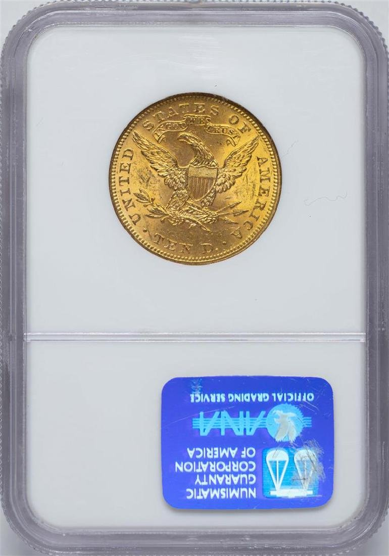 1899 $10 Liberty Head Eagle Gold Coin NGC MS62 - 2