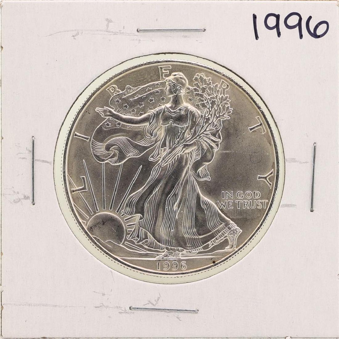 1996 $1 American Silver Eagle Coins