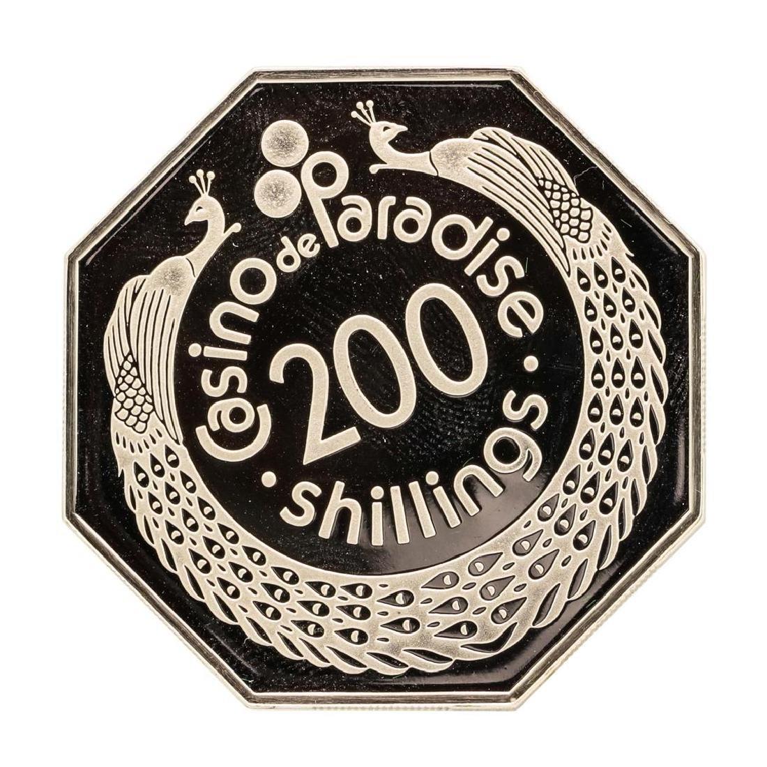 Casino de Paradise Kenya 20.5 gram .925 Sterling Silver