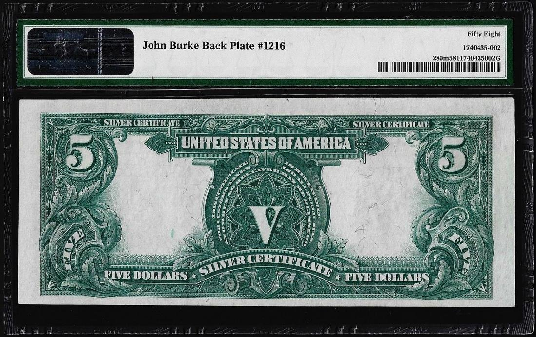 1899 $5 Indian Chief Silver Certificate Note Fr.280m - 2