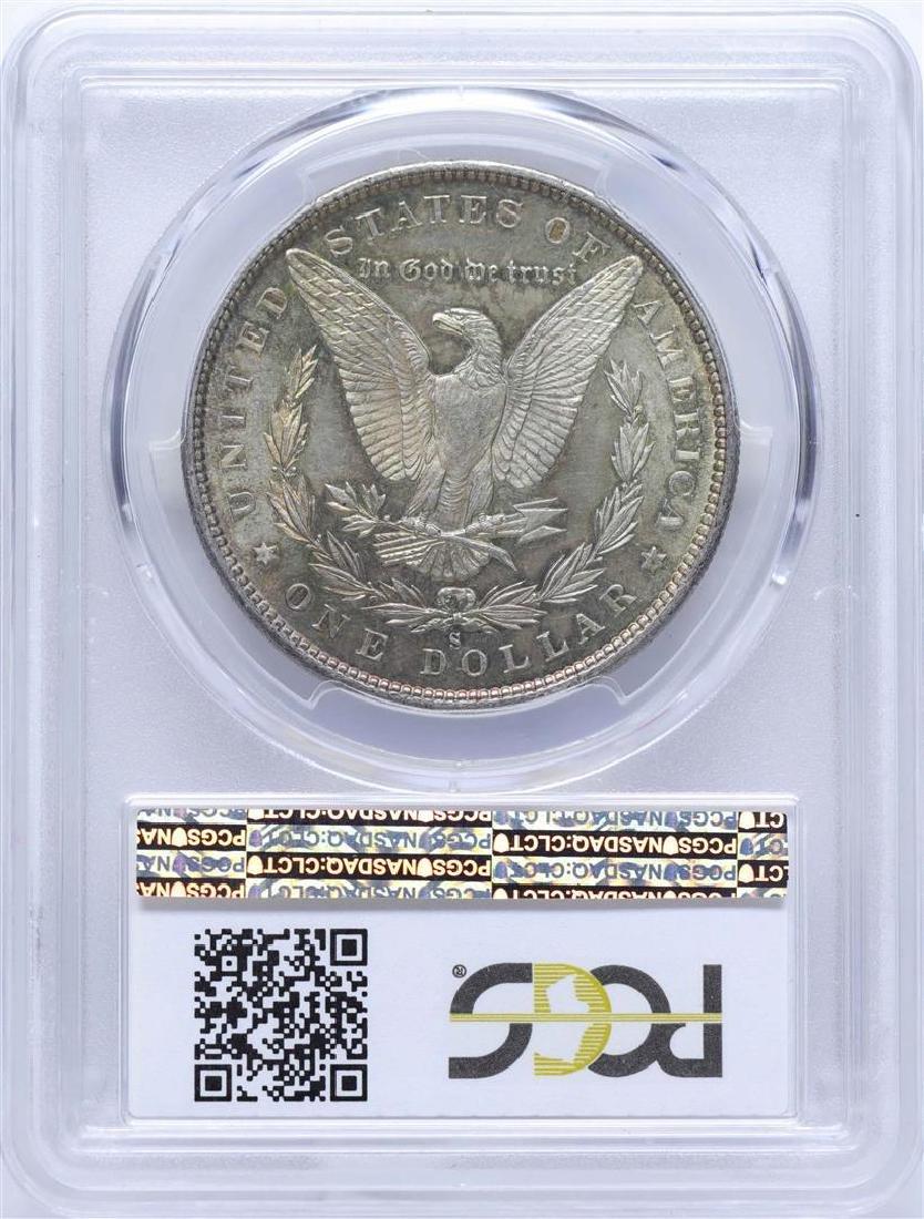 1880-S $1 Morgan Silver Dollar Coin PCGS MS64 Nice - 2