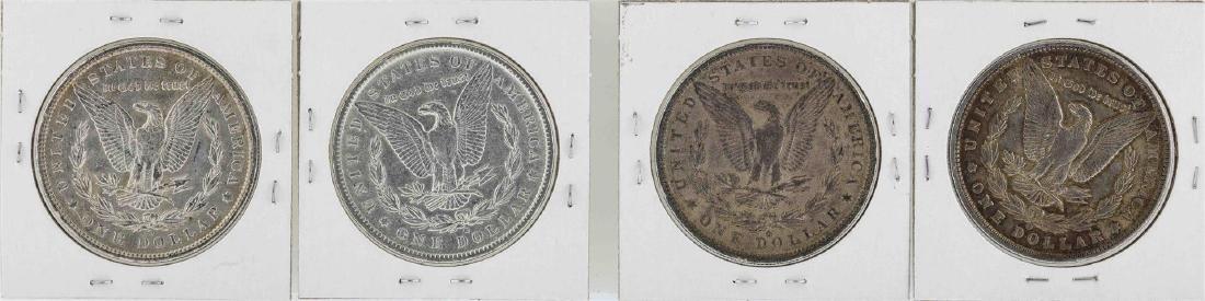 Lot of (4) 1891-O $1 Morgan Silver Dollar Coins - 2