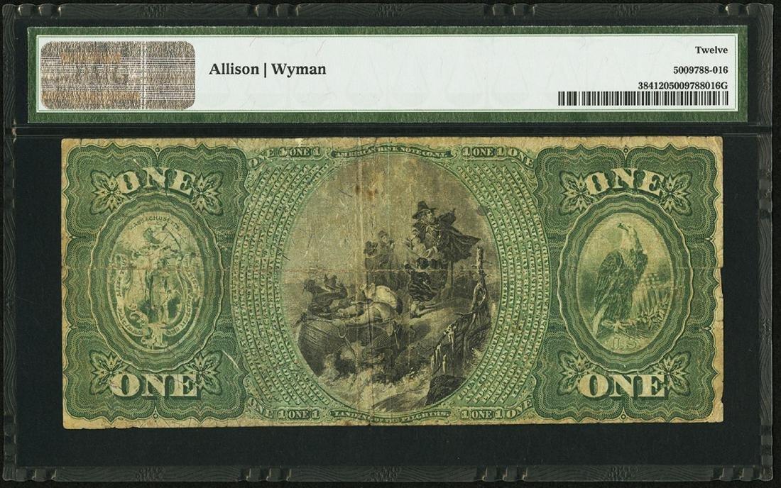 1875 $1 State NB of Boston, Massachusetts CH# 1028 - 2