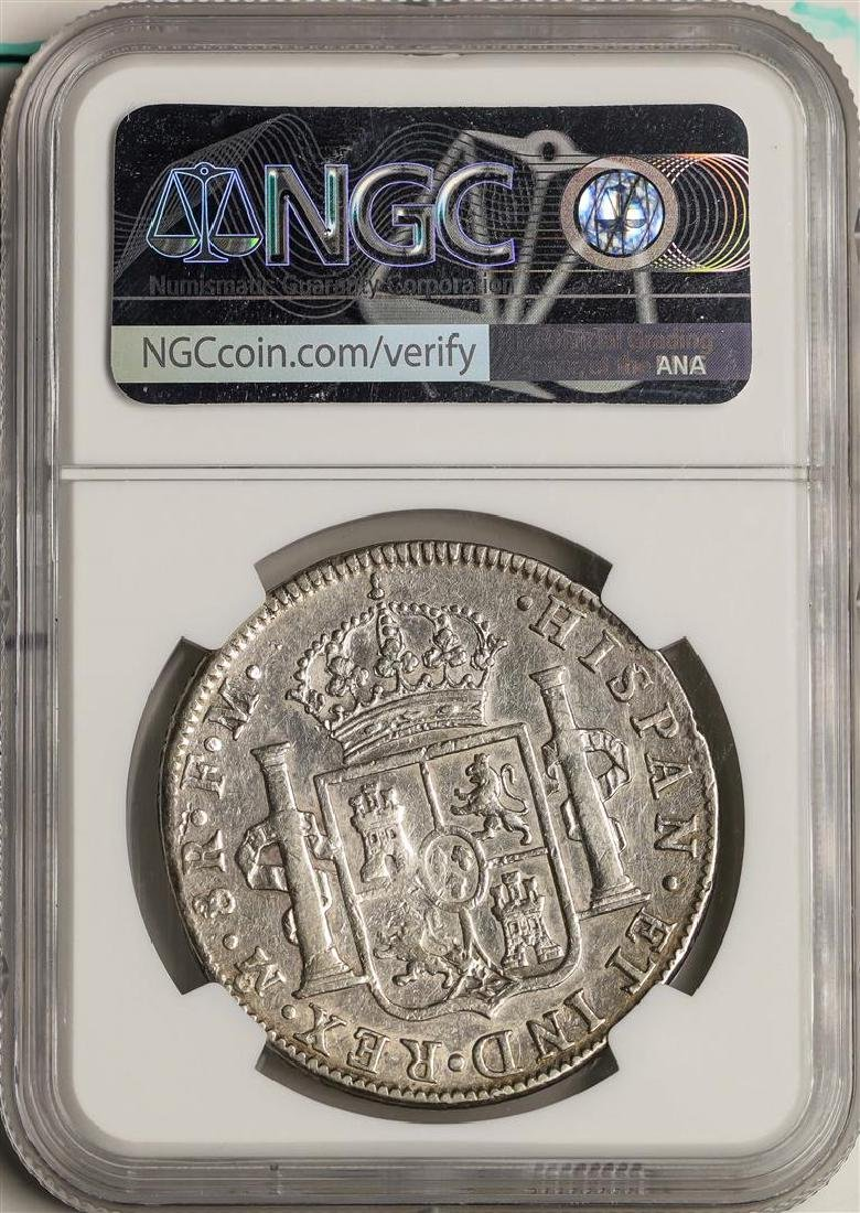 1797MO FM Mexico 8 Reales Silver Coin NGC XF Details - 2