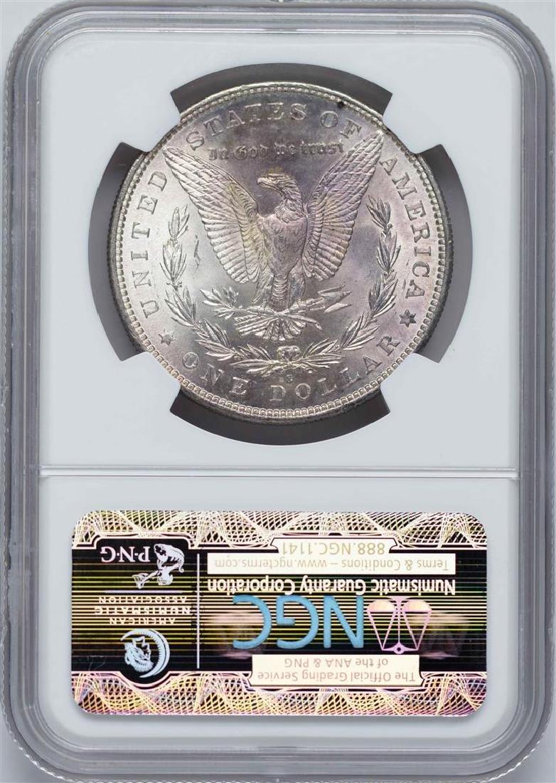 1882-S $1 Morgan Silver Dollar Coin NGC MS63 - 2