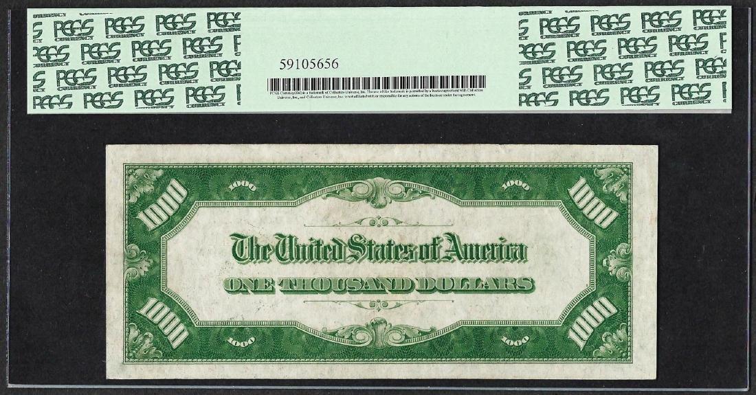 1928 $1,000 Federal Reserve Note Kansas City Fr.2210a-J - 2