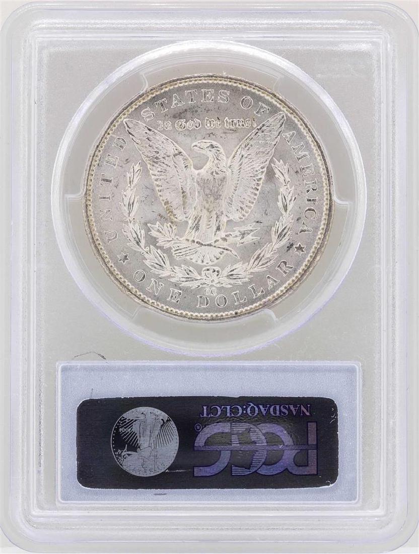1879-CC Capped Die $1 Morgan Silver Dollar Coin PCGS - 2