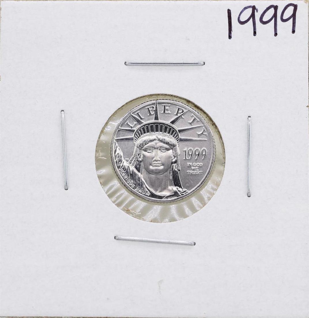 1999 $10 Platinum American Eagle 1/10 oz Coin