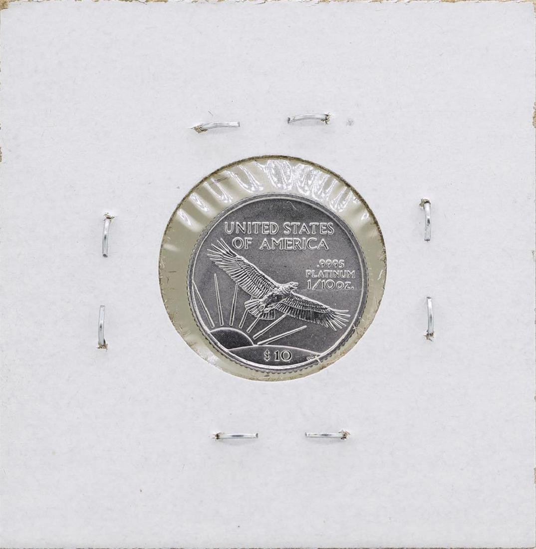 1999 $10 Platinum American Eagle 1/10 oz Coin - 2