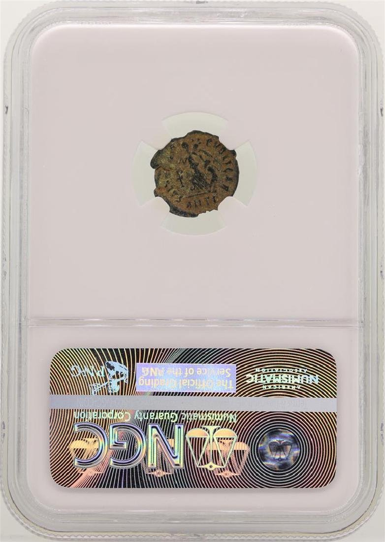 Arcadius 383-408 AD Ancient Eastern Roman Empire NGC Ch - 2