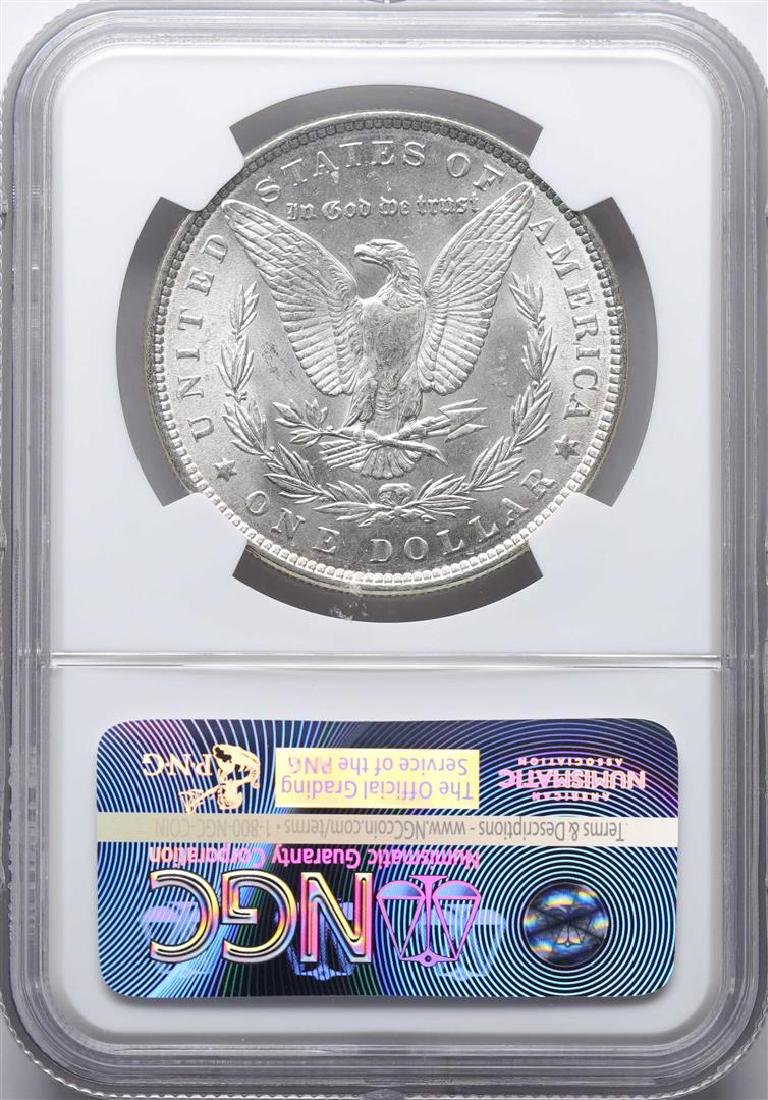 1886 $1 Morgan Silver Dollar Coin NGC MS63 - 2