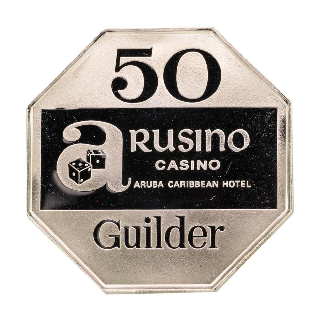 Rusino Casino Aruba Caribbean 14.4 gram .925 Sterling