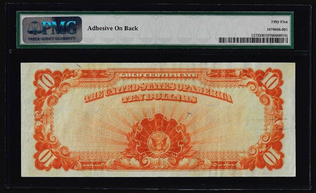 1922 $10 Gold Certificate Note Fr.1173 PMG About - 2