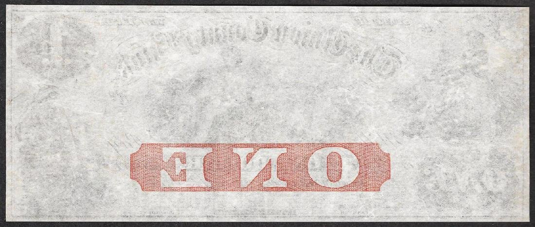 1800's $1 The Union County Bank Obsolete Note - 2