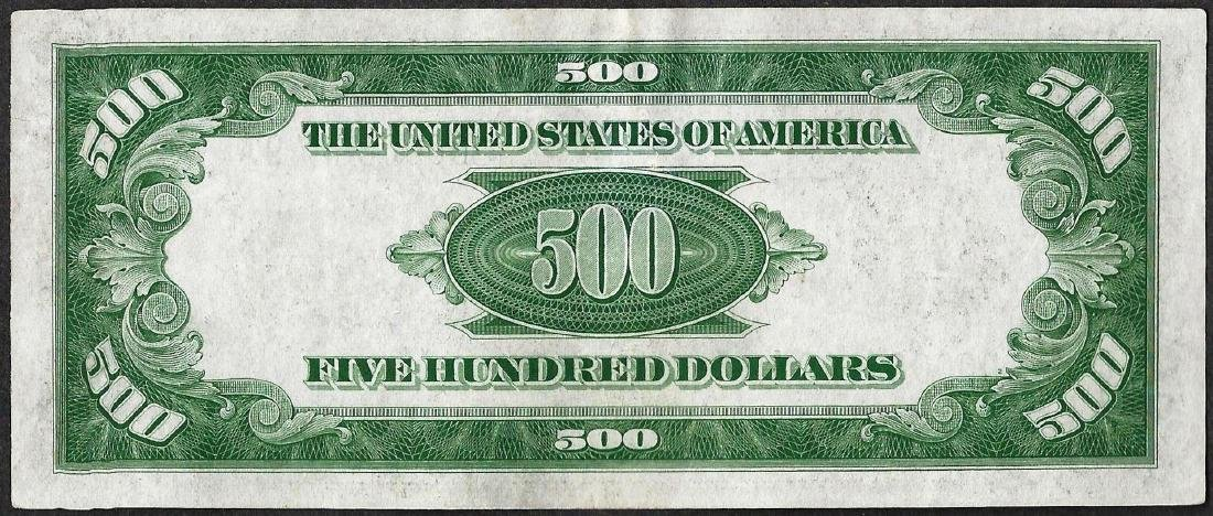 1934A $500 Federal Reserve Note Cleveland - 2