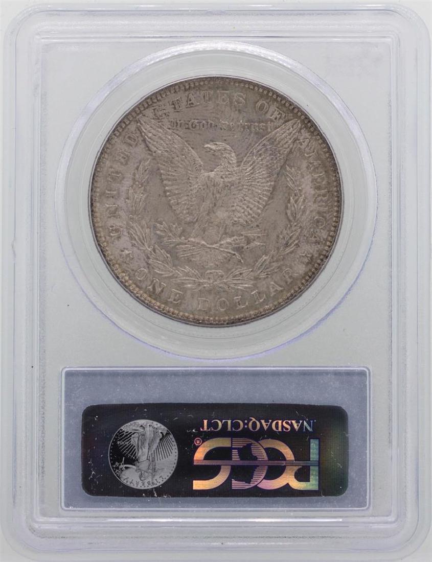 1896 $1 Morgan Silver Dollar Coin PCGS MS63 - 2