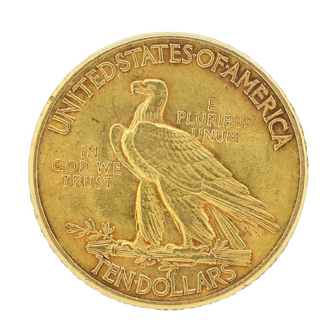1915 $10 Indian Head Eagle Gold Coin - 2