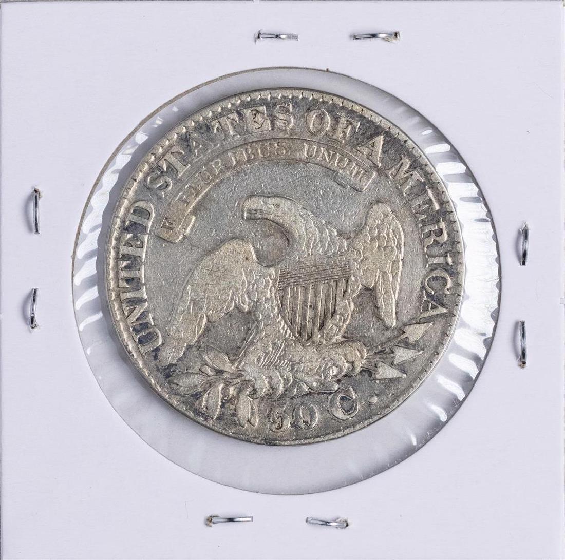 1828 Capped Bust Half Dollar Coin - 2