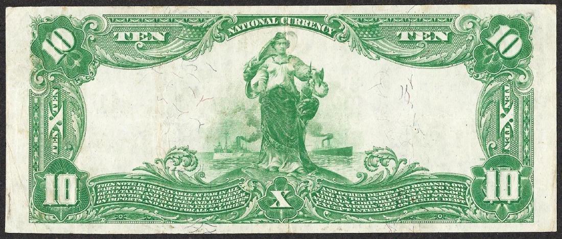 1902 PB $10 Public NB & Trust Company of New York, NY - 2