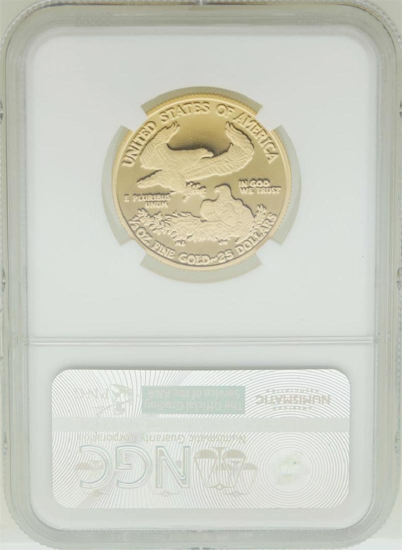 2010-W $25 American Gold Eagle Coin NGC PF70 Ultra - 2