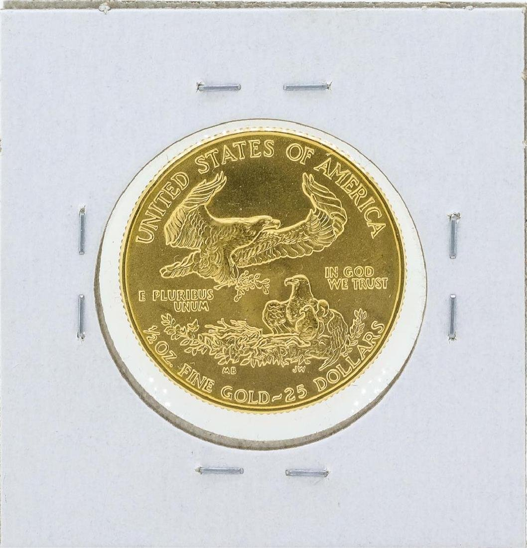 1986 $25 American Gold Eagle Coin - 2