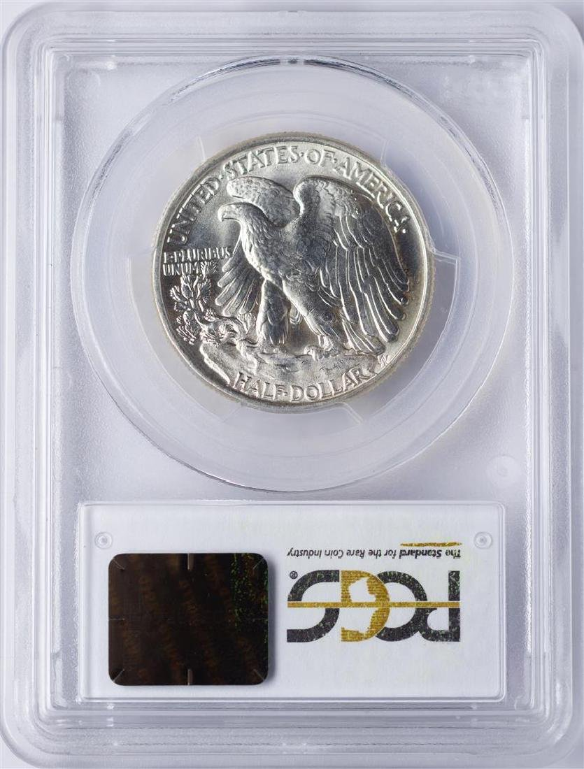 1946 Walking Liberty Half Dollar Coin PCGS MS65 - 2