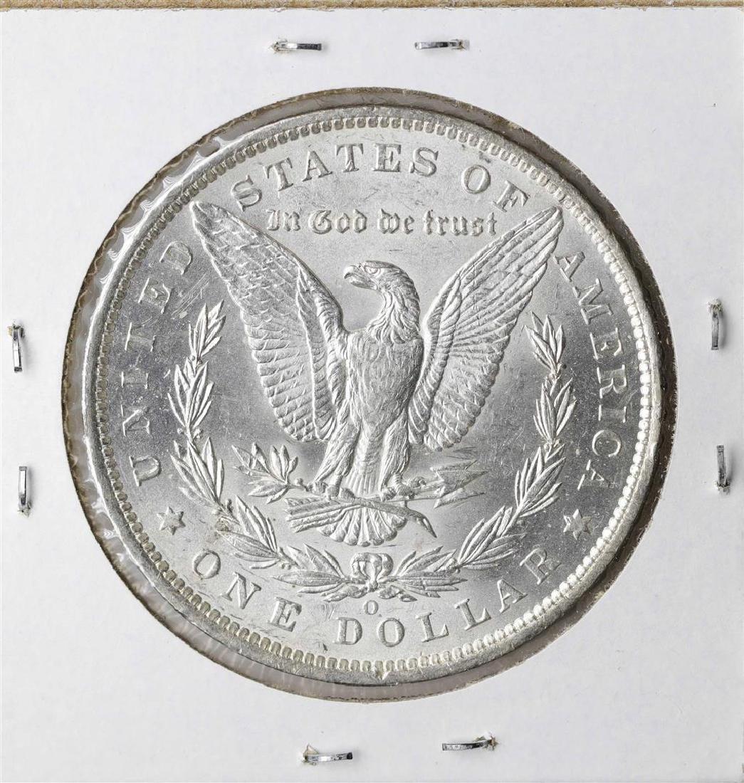 1884-O $1 Morgan Silver Dollar Coin - 2