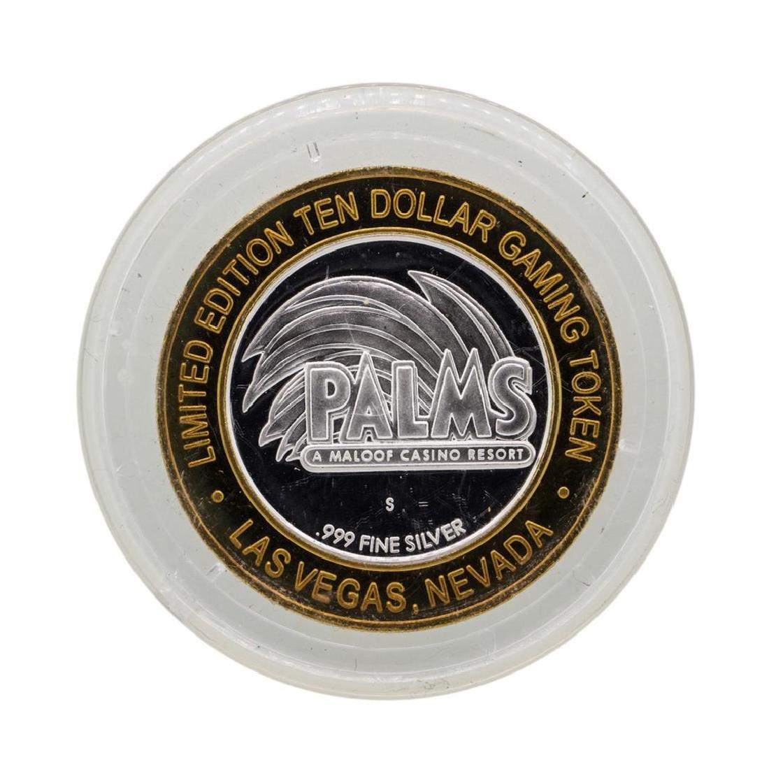 .999 Silver Palms Casino Las Vegas, NV $10 Casino