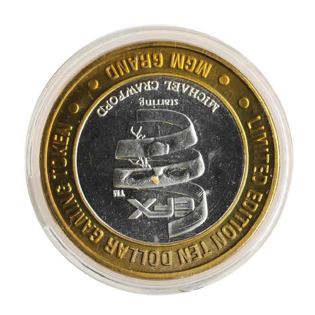 .999 Silver MGM Grand Las Vegas $10 Casino Limited