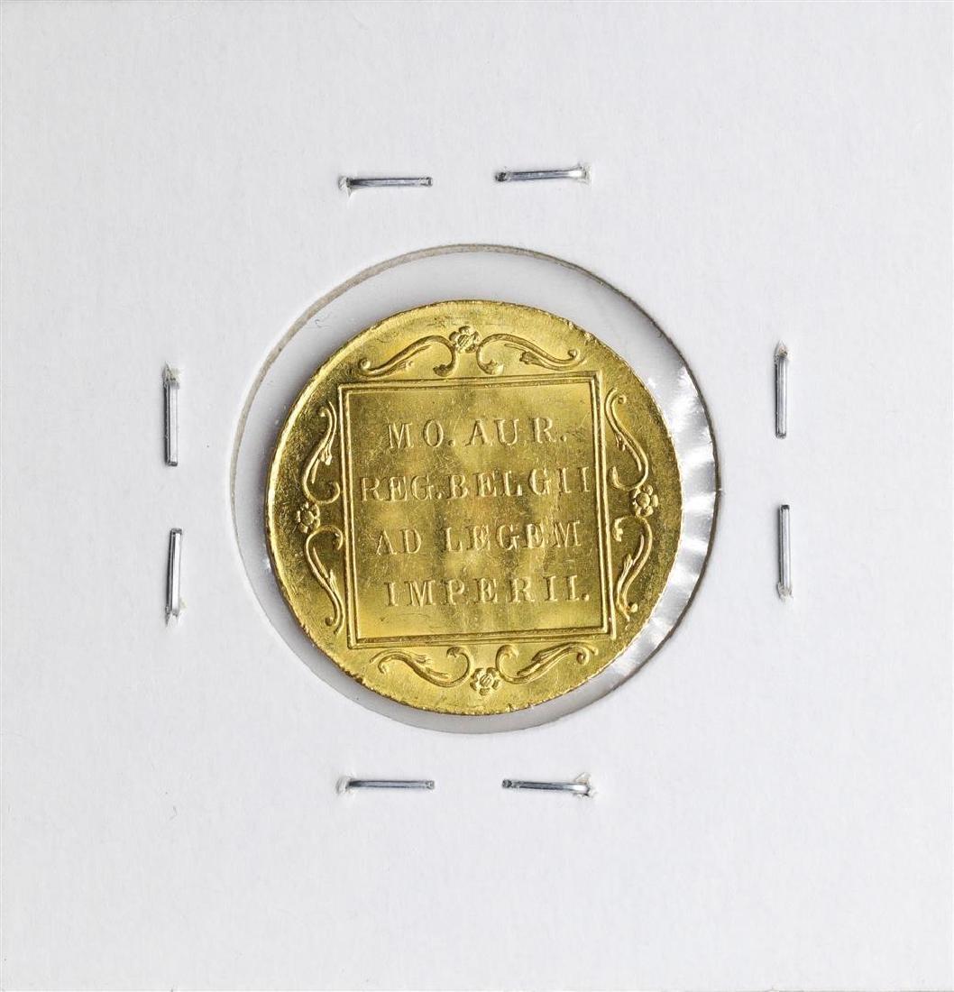 1928 Netherlands Ducat Gold Coin - 2