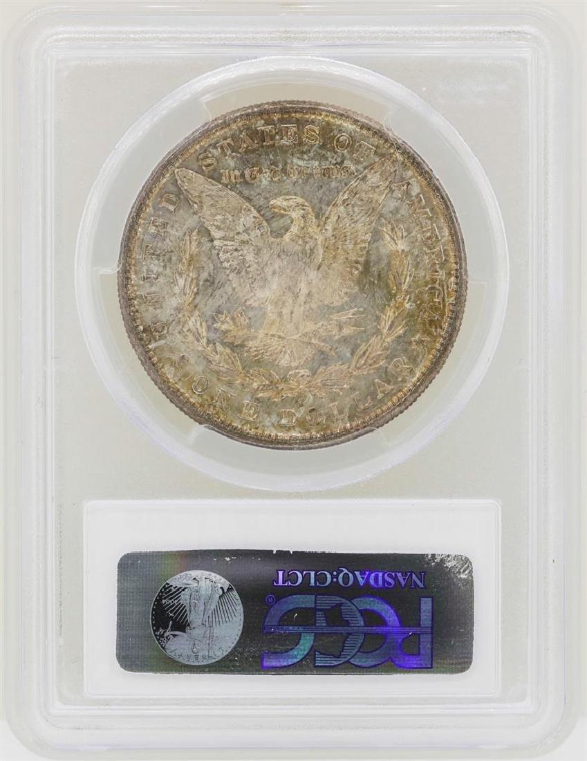 1881-S $1 Morgan Silver Dollar Coin PCGS MS65 - 2