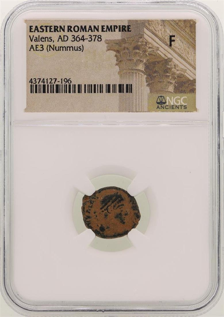 Valens 364-378 AD Ancient Eastern Roman Empire Coin NGC