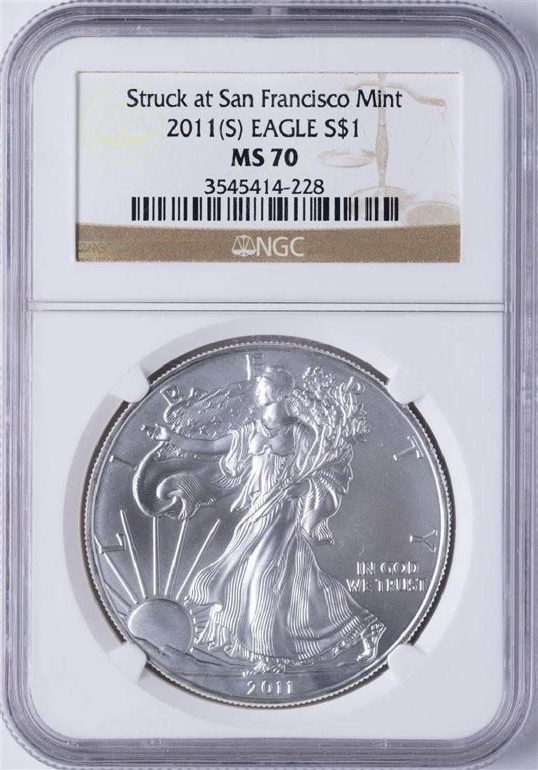 2011 (S) American Silver Eagle Struck at San Francisco